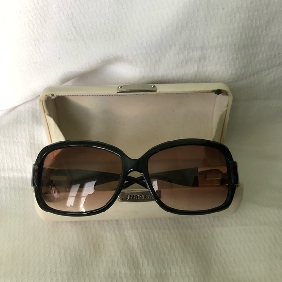 88eeaebed093 Jimmy Choo Accessories - Jimmy Choo sunglasses with case - 100% authentic